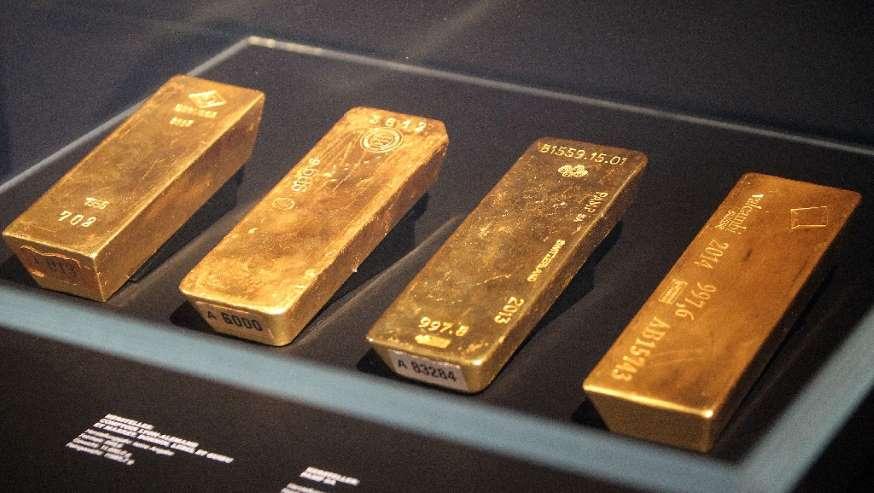 34b7075c3 Všetko, čo sa leskne, je na novej výstave v nemeckej centrálnej banke  (Budesbanke) určite zlatom. S týmto sprístupnením príchádza potom, ako sa  obavili ...